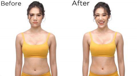 Trước và sau khi dùng sản phẩm