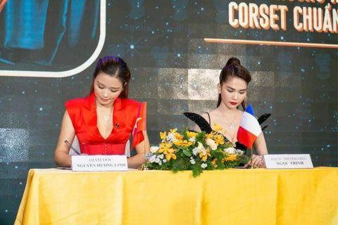 Ngọc Trinh Đại sứ thương hiệu độc quyền của Corset Chuẩn